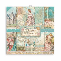 Stamperia - Sleeping Beauty (20,3 x 20,3) cm