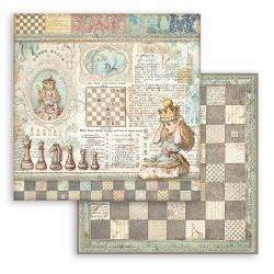 Stamperia Alice Through The Looking Glass (20,3 x 20,3) cm