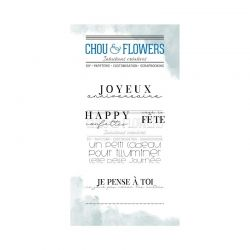 Chou & Flowers –  Inspiration Tampons Clears