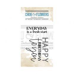 Chou & Flowers –  Surprise