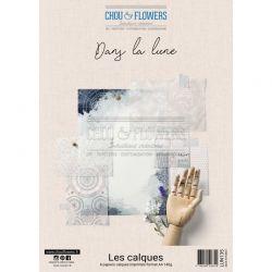 Chou & Flowers –  Collection Papier A4 Dans La Lune