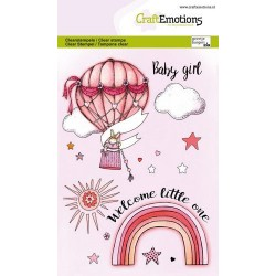 Craftemotions - Baby Girl...