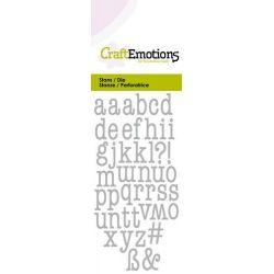CraftEmotions Dies - Lettres Majuscules