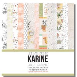 Les Ateliers De Karine - Cahier d'Automne collection