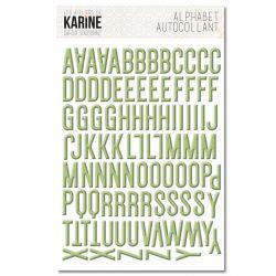 Les Ateliers De Karine - Cahier d'Automne - Alphabet
