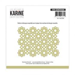 Les Ateliers De Karine - Cahier d'Automne - Fond geométrique Dies