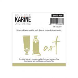 Les Ateliers De Karine - Cahier d'Automne - Art and Co Dies