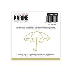 Les Ateliers De Karine - Cahier d'Automne - Parapluie Dies