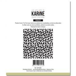 Les Ateliers De Karine - Cahier d'Automne - Mini feuilles Pochoirs