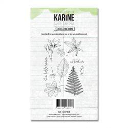 Les Ateliers De Karine - Cahier d'Automne -  Feuilles d'Automne Clears