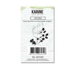 Les Ateliers De Karine - Cahier d'Automne -  Jolie Grue Clears