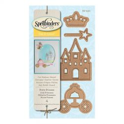 Spellbinders Die D-Lites Pretty Princess
