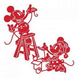 Disney - Cars - Mickey Mouse - Panorama Decorating Metal Dies