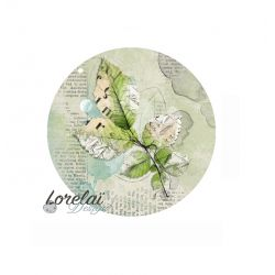 Lorelaï Design - Memento Feuillage Badge