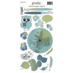 Lorelaï Design - Memento Motifs 01 étiquettes