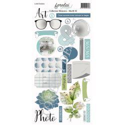 Lorelaï Design - Memento Motifs 02 étiquettes
