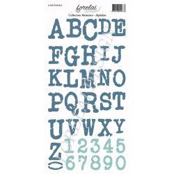 Lorelaï Design - Memento Alphabet étiquettes