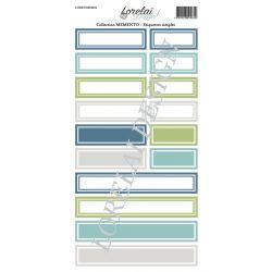 Lorelaï Design - Memento Etiquettes simples