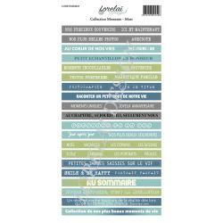 Lorelaï Design - Memento Mots Etiquettes