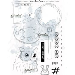 Lorelaï Design - Memento Ton Histoire Clears