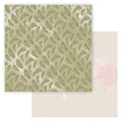 Lorelaï Design - Bloom Feuille R/V ( 30,5 x 30,5 cm)