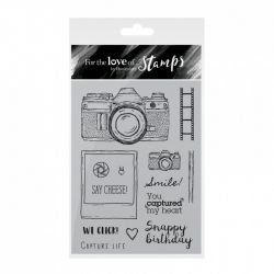 Hunkydory For the Love of Stamps -Say Cheese!