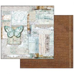 Stamperia - Atelier   10 feuille double face(30,5 x 30,5 cm)