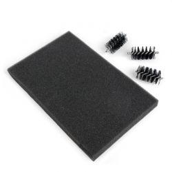 Sizzix rouleaux de rechange + tapis mousse pour la brosse