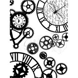 49 & Market Clear Stamps Steampunk Stylin