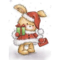Wild Rose Studio's Christmas Bunny