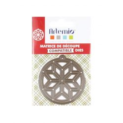 Artemio Dies Médaillon Poinsettia (8X12)