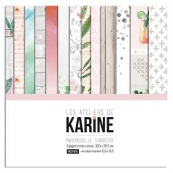 Les Ateliers de Karine Melle Tendresse la collection et calque