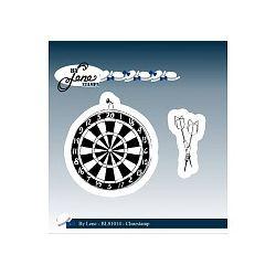 By Lene Clear Stamps Dartboard & Arrows