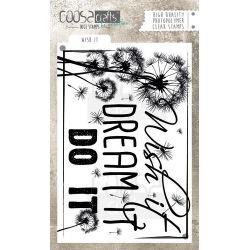 COOSA Crafts clearstamps A6 - Wish It
