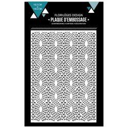 Florilèges Design plaque d'embossage Lainage