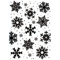 Plaque d'embossage Snowflakes