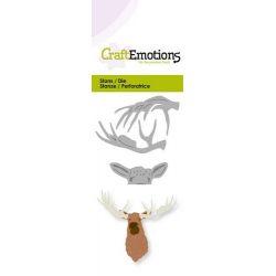 CraftEmotions Die - head moose 3D