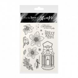 Hunkydory For the Love of Stamps - Christmas Rose Lantern