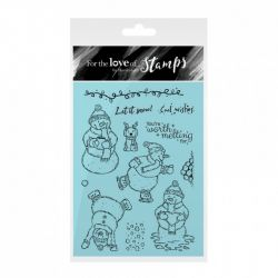 Hunkydory For the Love of Stamps - Silly Snowmen