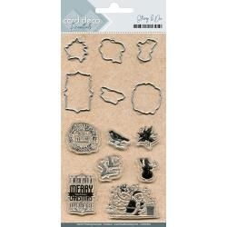 Find It Trading Card Deco Stamp & Die Set Merry Christmas