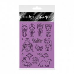 Hunkydory For the Love of Stamps - The Nativity