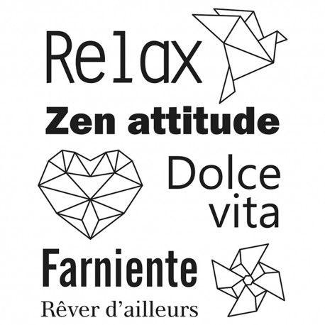 Artemio Tampons Transparents Relax 7 X 9 cm