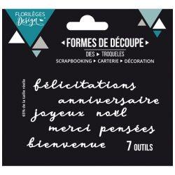 Florilèges Design Die Mots de carterie