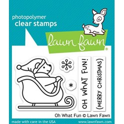 Law Fawn Clear Oh What Fun