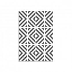 Darice - Plaque d'embossage Diagonal Bloc Pattern