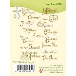 Leane Creatif Voeux / Texte Français 2.
