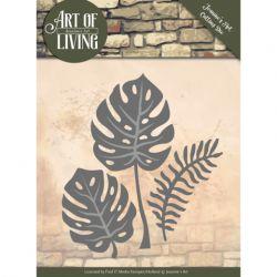 Jeanine's Art Dies - Art of Living - Leaves