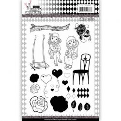 Yvonne Creations Clear- Pretty Pierrot 3