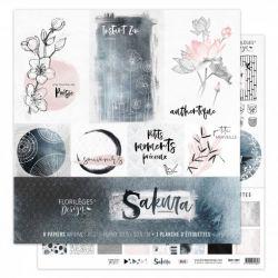 Florilèges Design Kit collection Sakura