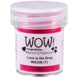 Wow Love is the drug (poudre à embosser)